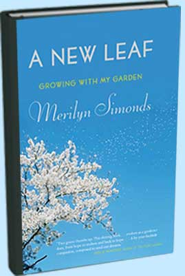 BooK cover: A New Leaf: Growing With My Garden by Merilyn Simonds