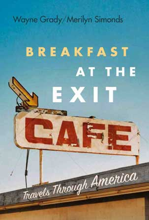 Front cover, Breakfast at the Exit Cafe by Merilyn Simonds and Wayne Grady