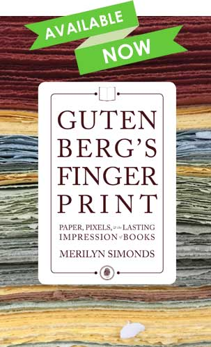 Book cover - Gutenberg's Fingerprint